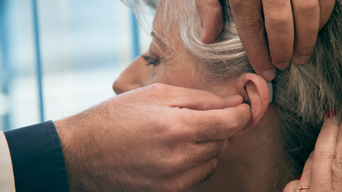 La prueba del audífono