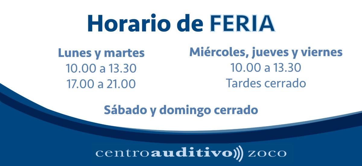 Horario para la Feria de Mayo de Córdoba