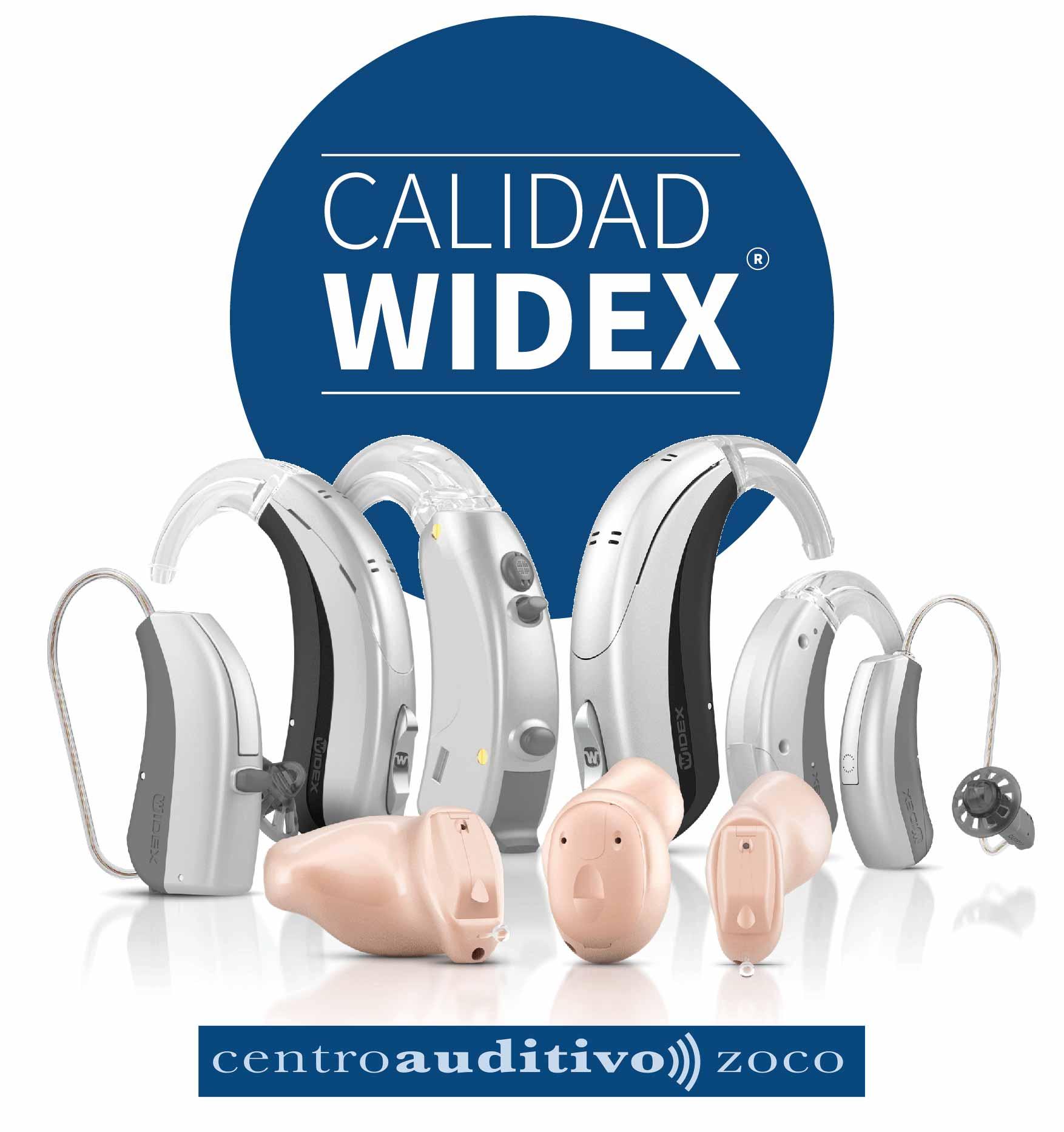 Audífono Oticon azul